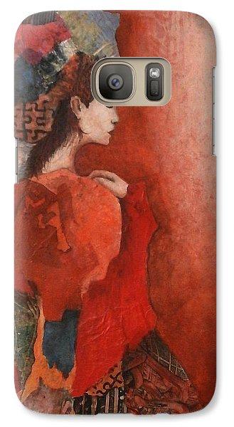 Galaxy Case featuring the painting Sleep Walk by Buck Buchheister