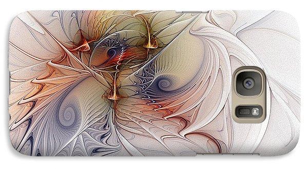 Galaxy Case featuring the digital art Sleeping Beauties by Karin Kuhlmann
