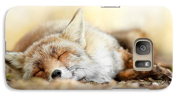 Sleeping Beauty -red Fox In Rest Galaxy S7 Case