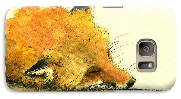 Sleeping Fox Galaxy S7 Case