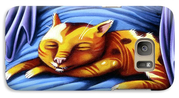 Sleeping Kitty Galaxy S7 Case