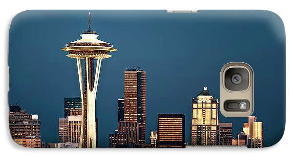 Galaxy Case featuring the photograph Sleepless In Seattle by Eduard Moldoveanu