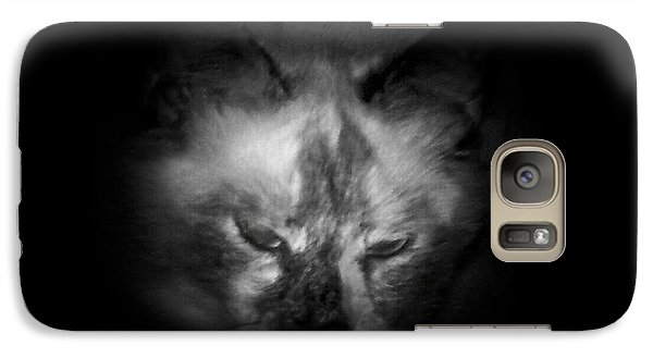 Galaxy Case featuring the photograph Sleepy Head by Betty Northcutt