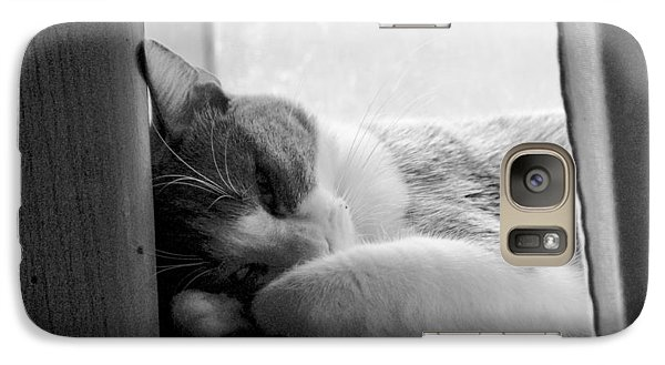 Sleepy Kitty Galaxy S7 Case