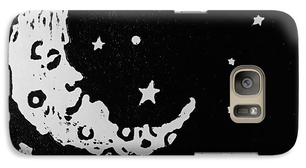 Galaxy Case featuring the relief Sleepy Time by Jame Hayes