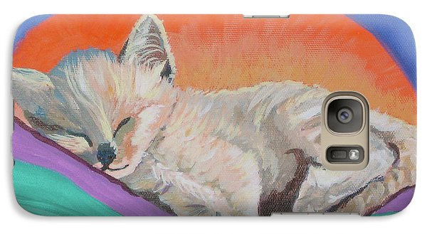 Galaxy Case featuring the painting Sleepy Time by Phyllis Kaltenbach