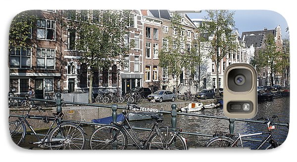 Galaxy Case featuring the photograph Sleutelbrug Amsterdam by Wilko Van de Kamp