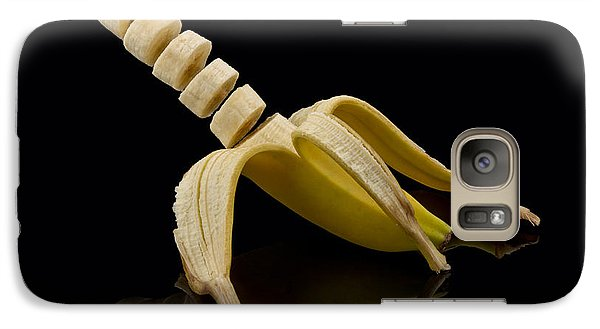 Sliced Banana Galaxy Case by Gert Lavsen