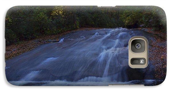 Galaxy Case featuring the photograph Sliding Rock Falls by Ellen Heaverlo