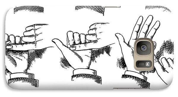 Galaxy Case featuring the digital art Slight Of Hand by Edward Fielding