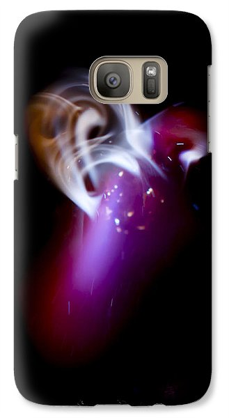Galaxy Case featuring the photograph Hot Chilly  by Steven Poulton