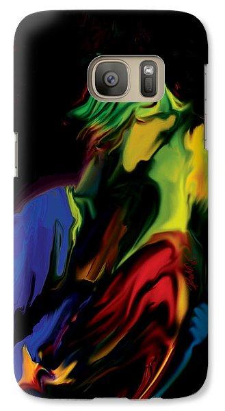 Galaxy Case featuring the digital art Slow Dance by Rabi Khan