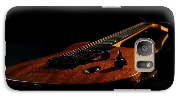 Galaxy Case featuring the photograph Slow-hand-guitar by Franziskus Pfleghart