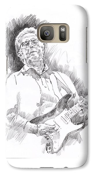 Eric Clapton Galaxy S7 Case - Slowhand by David Lloyd Glover