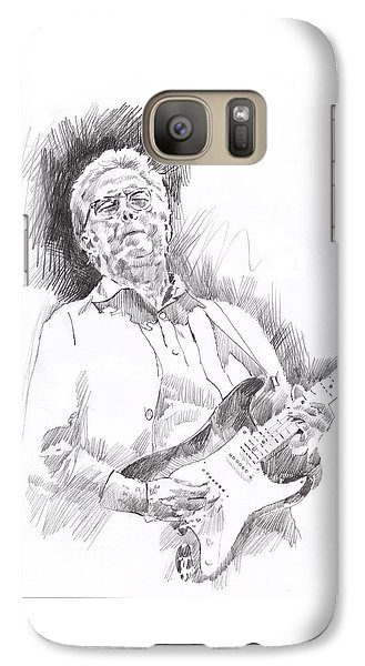 Slowhand Galaxy S7 Case by David Lloyd Glover