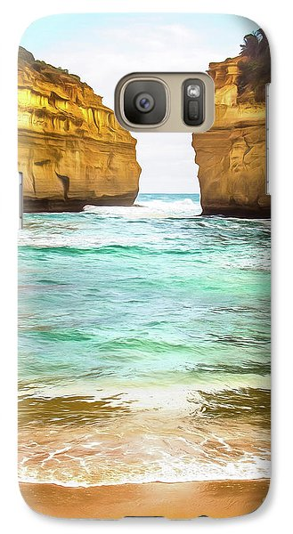 Galaxy Case featuring the photograph Small Bay by Perry Webster