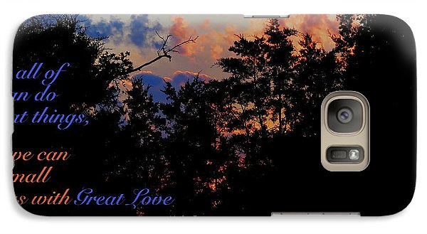 Galaxy Case featuring the photograph Small Counts by David Norman