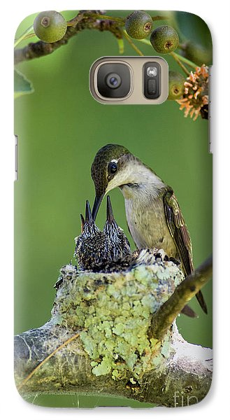 Galaxy Case featuring the photograph Small Family - D009336 by Daniel Dempster