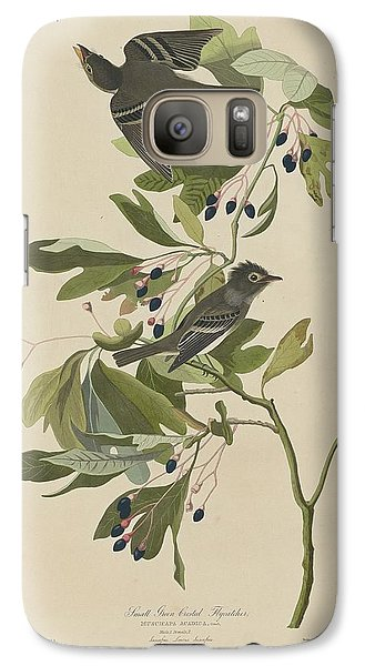 Flycatcher Galaxy S7 Case - Small Green-crested Flycatcher by Dreyer Wildlife Print Collections