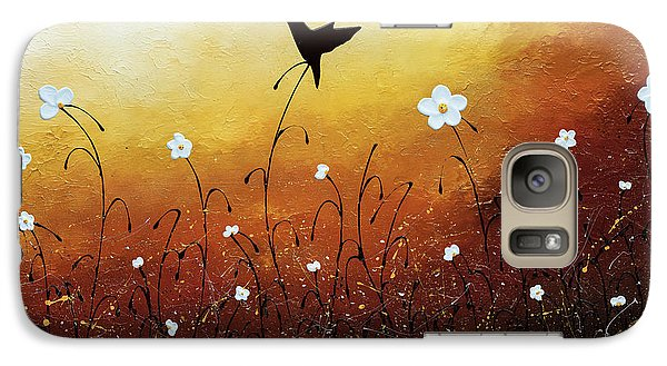 Galaxy Case featuring the painting Small Treasure by Carmen Guedez