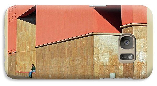 Galaxy Case featuring the photograph Small World by Joe Jake Pratt