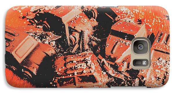 Truck Galaxy S7 Case - Smashem Crashem Cars by Jorgo Photography - Wall Art Gallery