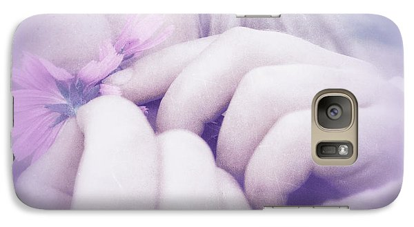 Galaxy Case featuring the digital art Smell Life - V07t3 by Variance Collections