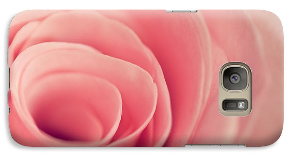 Galaxy Case featuring the photograph Smell The Roses by Yvette Van Teeffelen