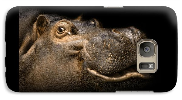 Galaxy Case featuring the photograph Smile by Cheri McEachin