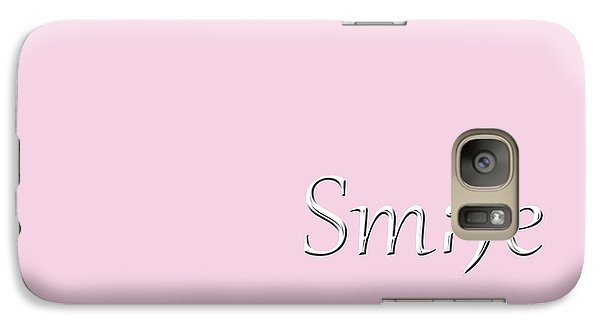 Galaxy Case featuring the photograph Smile by Cherie Duran