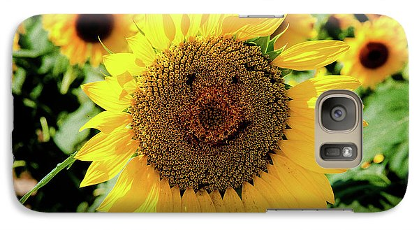 Galaxy Case featuring the photograph Smile by Greg Fortier