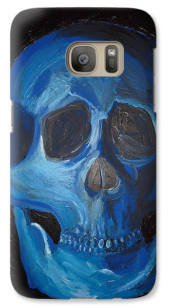 Galaxy Case featuring the painting Smile by Joshua Redman