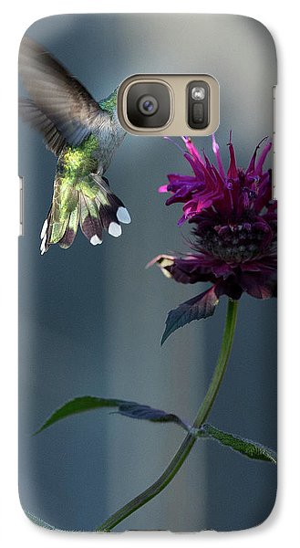 Galaxy Case featuring the photograph Smiles In The Garden by Everet Regal