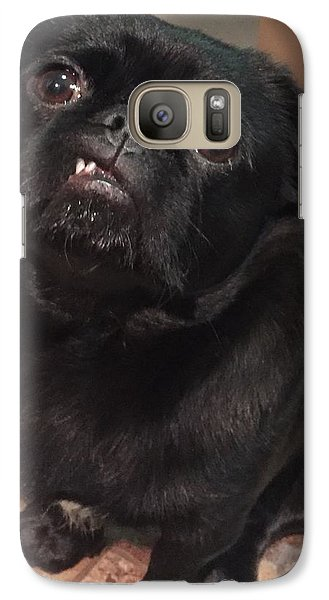 Galaxy Case featuring the photograph Smiling For Treats by Paula Brown