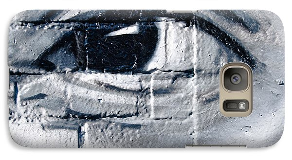 Galaxy Case featuring the painting Smiling Graffiti Eye by Yurix Sardinelly