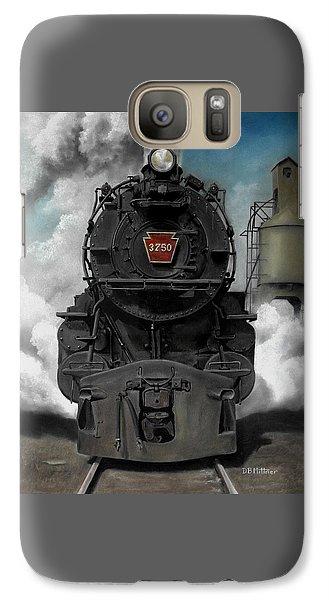 Train Galaxy S7 Case - Smoke And Steam by David Mittner
