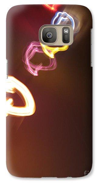 Galaxy Case featuring the photograph Smoke In Colors by Ausra Huntington nee Paulauskaite