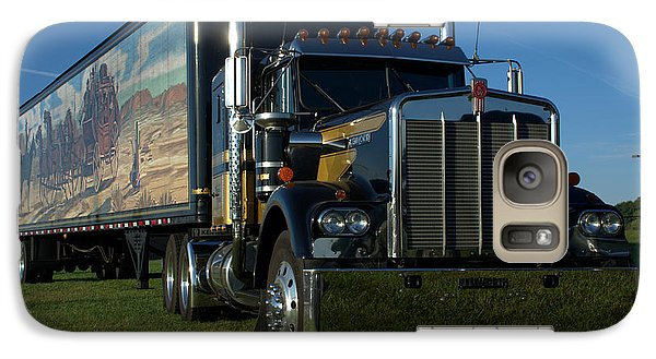 Galaxy Case featuring the photograph Smokey And The Bandit Tribute Semi Truck by Tim McCullough