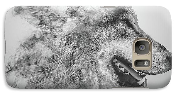 Smokey Wolf Galaxy S7 Case