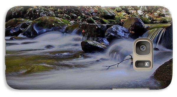Galaxy Case featuring the photograph Smoky Mountain Stream by Douglas Stucky