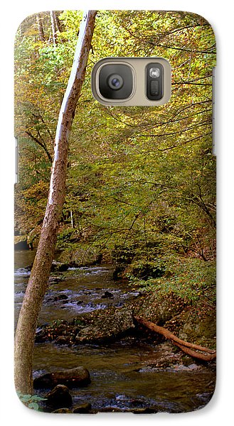 Galaxy Case featuring the photograph Smoky Mountains River by Jerry Cahill