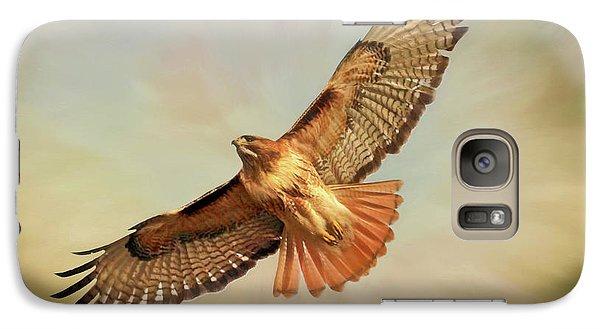 Buzzard Galaxy S7 Case - Smooth Operator by Donna Kennedy