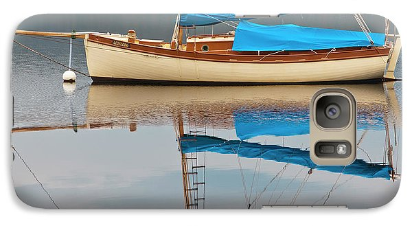 Galaxy Case featuring the photograph Smooth Sailing by Werner Padarin