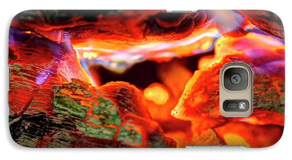 Galaxy Case featuring the photograph Smores To Follow by Gary Holmes
