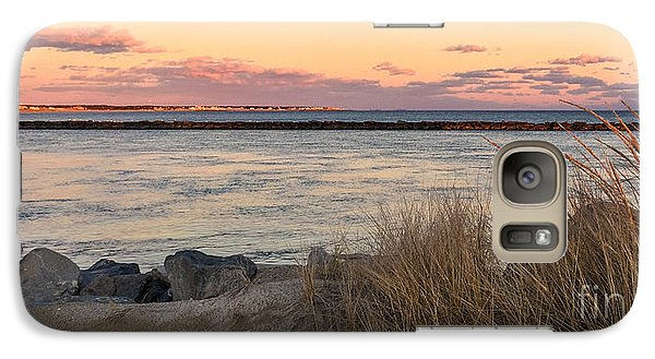 Galaxy Case featuring the photograph Smugglers Beach Sunset II by Michelle Wiarda
