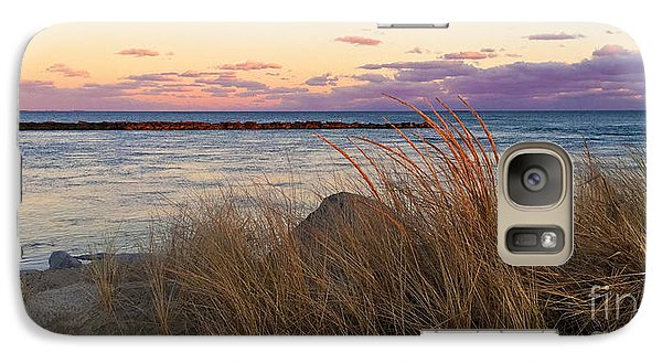 Galaxy Case featuring the photograph Smugglers Beach Sunset by Michelle Wiarda