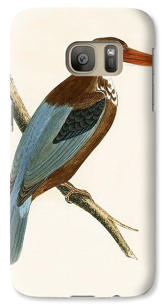 Smyrna Kingfisher Galaxy S7 Case by English School