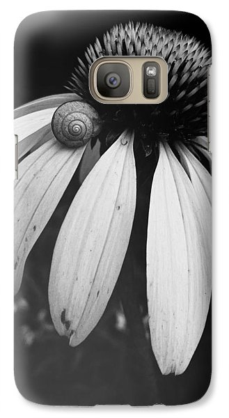Galaxy Case featuring the photograph Snail by Sharon Jones