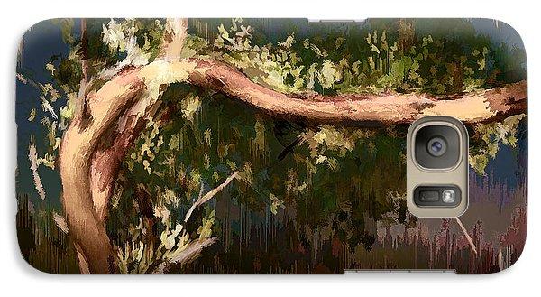 Galaxy Case featuring the digital art Snake Tree by Dale Stillman