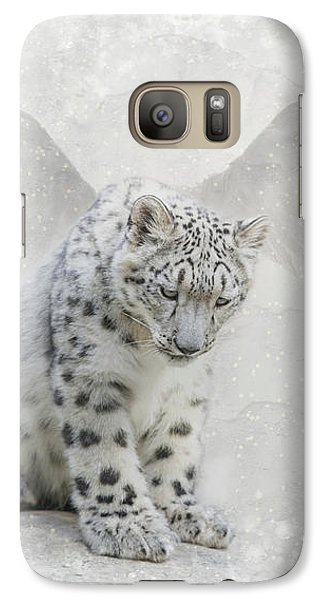 Snow Angel Galaxy S7 Case